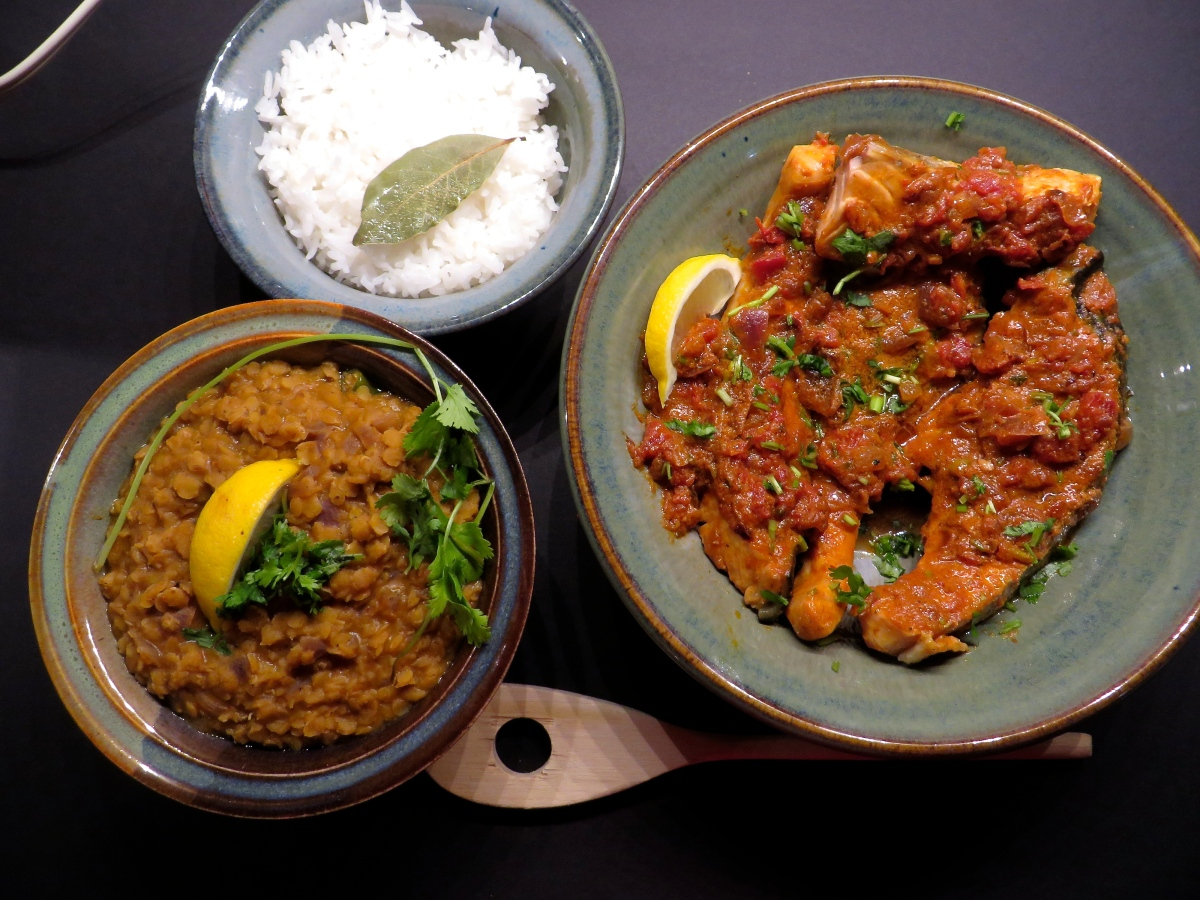 Red Lentil (vegan), one pot curry